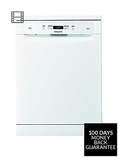 hotpoint-hfc3c32fwuknbsp14-place-full-size-dishwasher-with-quick-wash-and-3d-zone-wash-white
