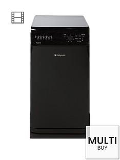 hotpoint-sial11010k-10-place-slimline-dishwasher-black