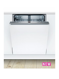 Bosch Serie 4 SMV46IX00G 13-Place Integrated Dishwasher with VarioFlex Basket- White