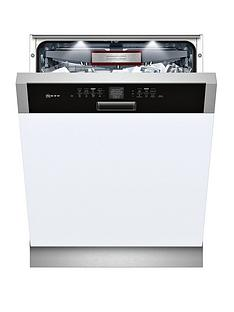 Neff S416T80S0G 14-Place Integrated Dishwasher - Stainless Steel