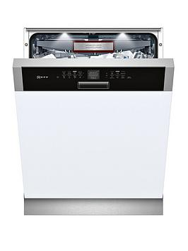 Neff S416T80S0G 14-Place Integrated Dishwasher - Stainless Steel Best Price, Cheapest Prices