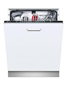 Neff S513G60X0G 12-Place Integrated Dishwasher - White