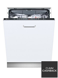 Neff S513K60X1G 13-Place Integrated Dishwasher - Black  Best Price, Cheapest Prices