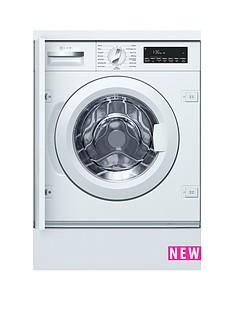 Neff W544BX0GB 8kg Load, 1400 Spin Integrated Washing Machine - White