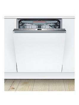 Bosch Serie 6 Smv68Md02G 13-Place Integrated Dishwasher With Dooropen Assist - Stainless Steel