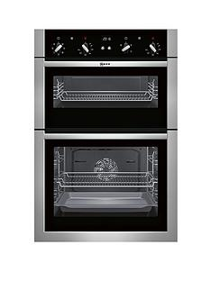 neff-u14m42n5gbnbsp60cm-built-in-double-oven-with-circothermregnbsp--stainless-steelnbsp