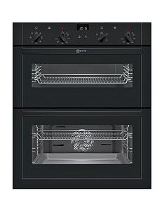neff-u17m42s5gbnbsp60cmnbspbuilt-under-double-oven-with-circothermregnbsp--black