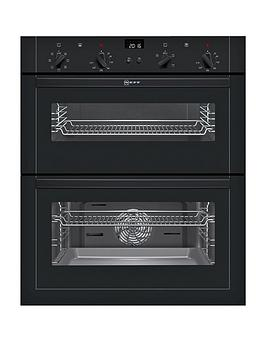 neff-u17m42s5gbnbsp60cmnbspbuilt-under-double-oven-with-circothermregnbsp--black