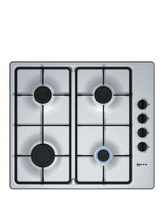 neff-t26br46n0-60cm-built-in-gas-hob-with-integrated-controls-stainless-steel