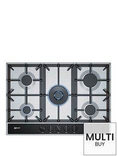 neff-t27da69n0-75cm-built-in-gas-hob-with-flameselectnbsp-nbspstainless-steel