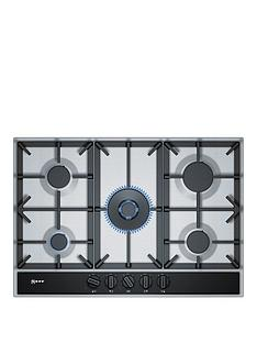 neff-t27da69n0-75cm-built-in-gas-hob-with-integrated-controls--nbspstainless-steel