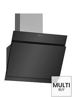 neff-d65ihm1s0b-60cm-chimney-hood-black