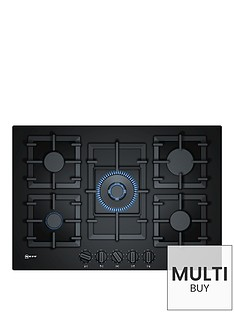neff-t27cs59s0-75cm-built-in-gas-hobnbspwith-flameselect-control-black
