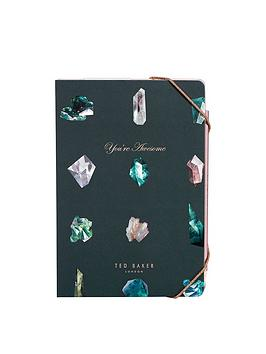 ted-baker-ted-baker-a5-sticky-notes-and-notebook-set-linear-gem