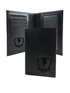 personalised-black-leather-anti-fraud-passport-holder