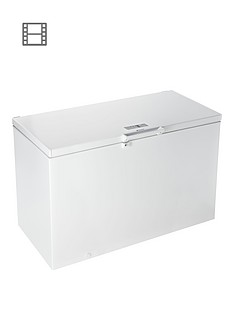 Hotpoint CS1A400FMH 400-Litre Chest Freezer - White Best Price, Cheapest Prices