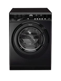 Hotpoint FDL9640K 1400 Spin, 9kg Wash, 6kg Dry Washer Dryer - Black