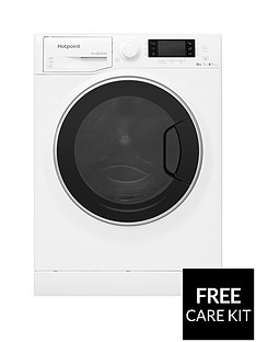 Hotpoint Ultima S-Line RD1076JD 10kg Wash, 7kg Dry, 1600 Spin Washer Dryer - White