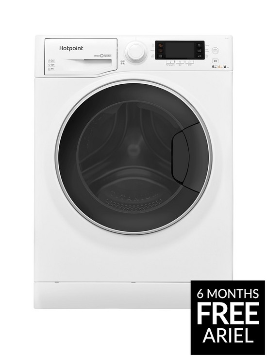 a85866e93341 Hotpoint Ultima S-Line RD966JD 9kg Wash, 6kg Dry, 1600 Spin Washer Dryer -  White