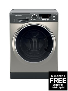 hotpoint-ultima-s-linenbsprd966gd-9kg-wash-6kg-dry-1600-spin-washer-dryer-graphite