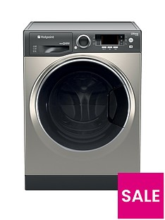 hotpoint-ultima-s-linenbsprd966jgdnbsp9kg-wash-6kg-dry-1600-spin-washer-dryer-graphite