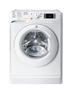 Indesit XWDE861480XW 1400 Spin, 8kg Wash, 6kg Dry Washer Dryer - White