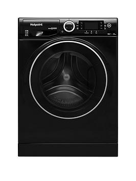 Hotpoint Ultima S-Line Rd966Kd 9Kg Wash, 6Kg Dry, 1600 Spin Washer Dryer - Black Review thumbnail