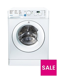 Indesit BWD71252W 1200 Spin 7kg Load Washing Machine - White