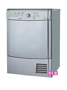 indesit-idcl85bhs-8kg-load-condensor-sensor-tumble-dryer-silver