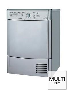 indesit-idcl85bhs-8kg-load-condensor-sensor-tumble-dryer-silver
