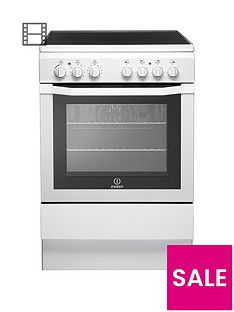 indesit-i6vv2aw-60cm-electric-cooker-with-ceramic-hob-white