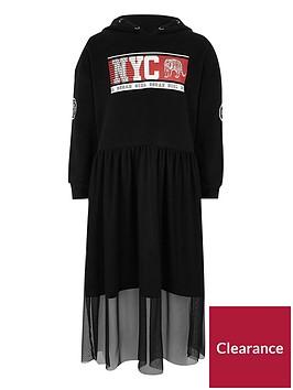 river-island-girls-black-039nyc039-hoodie-mesh-skirt-dress