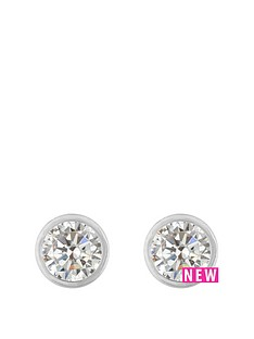 love-gold-9ct-white-gold-3mm-cz-rubover-earrings