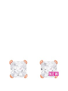 love-gold-9ct-rose-gold-5mm-princess-cut-cz-stud-earrings