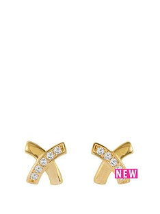 love-gold-9ct-yellow-gold-5mm-kiss-cz-stud-earrings