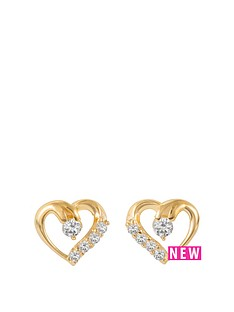 love-gold-9ct-yellow-gold-6mm-heart-cz-stud-earrings