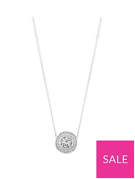 the-love-silver-collection-sterling-silver-cubic-zirconianbsphalo-pendant