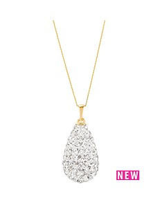 love-gold-9ct-yellow-gold-crystal-glitter-bomb-pendant