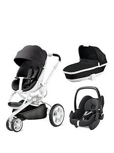 quinny-moodd-3-in-1-package-with-foldable-carrycot-and-maxi-cosi-pebble-black-ironyblack-raven