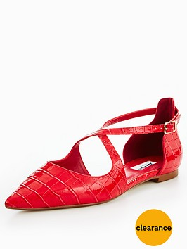 dune-london-camiler-flat-cross-strap-court