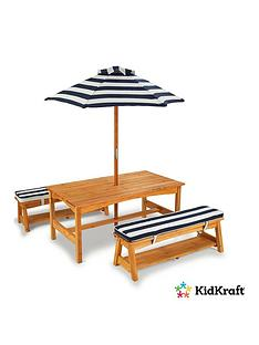 kidkraft-outdoor-picnic-table-bench-set-with-cushions-umbrella
