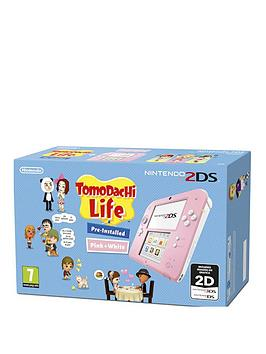 nintendo-2ds-console-with-tomodachi-life--nbsppink-and-white