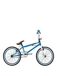 Zombie Spike Boys BMX with Giro and 1 Set of Pegs 20 inch Wheel