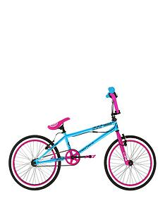 zombie-scream-girls-bmx-with-giro-and-1-set-of-pegs-20-inch-wheel
