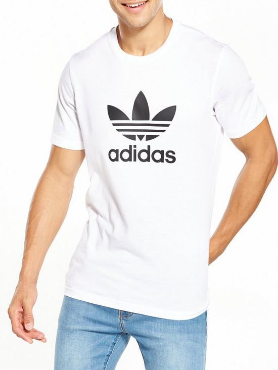 244c87a6 adidas Originals Trefoil T-Shirt | very.co.uk