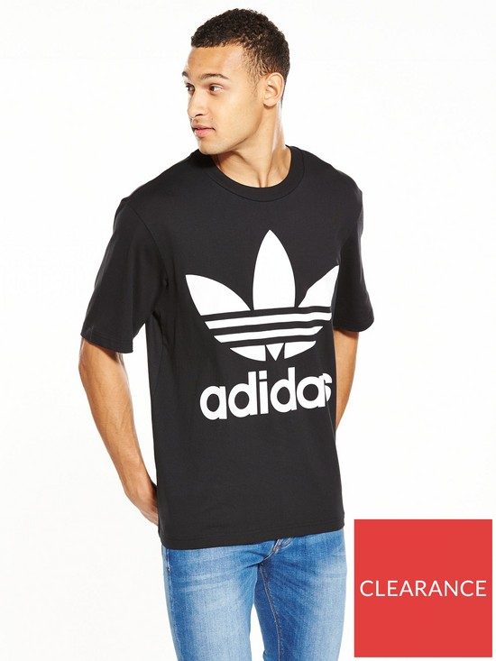 57584fcc2d2f adidas Originals Oversized T-Shirt | very.co.uk