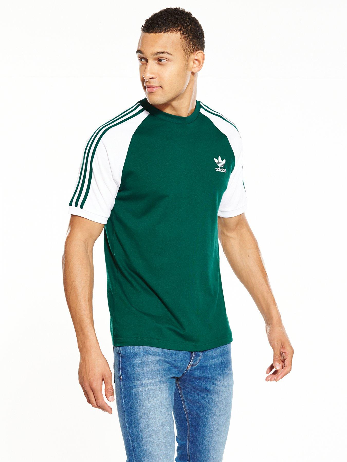 adidas originali 3 strisce california t - shirt.