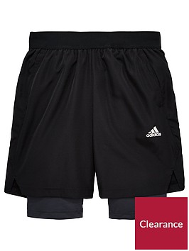 adidas-youth-2in1-short
