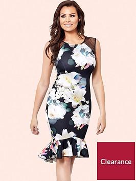 jessica-wright-jessica-wright-harmony-printed-frill-hem-midi-dress