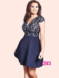 jessica-wright-jessica-wright-langley-lace-frill-hem-skater-dress